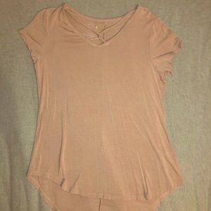 Pink hi-low shirt from Maurices